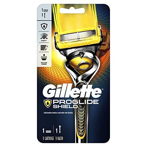 Gillette ProGlide Shield Men's Razor Handle + 1 Blade Refill