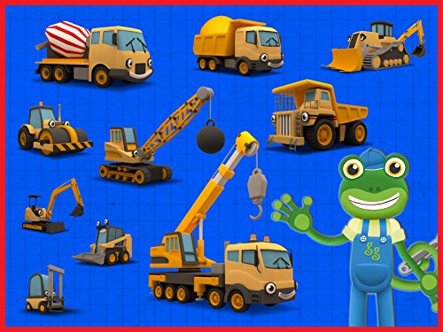 Counting Construction Trucks - Learn to Count 1 - 10