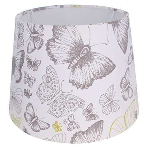 Othmro 6.49x8.66x6.29 inch butterfly style Lampshade for Home Office Reading Lamp