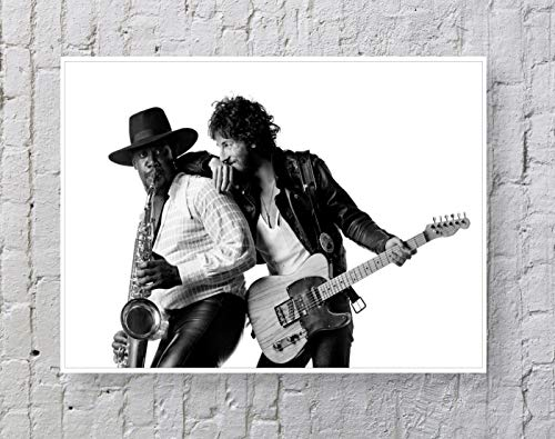 Springsteen - Born to Run Poster Standard Size   18-Inches by 24-Inches  Springsteen Posters Wall Poster Print