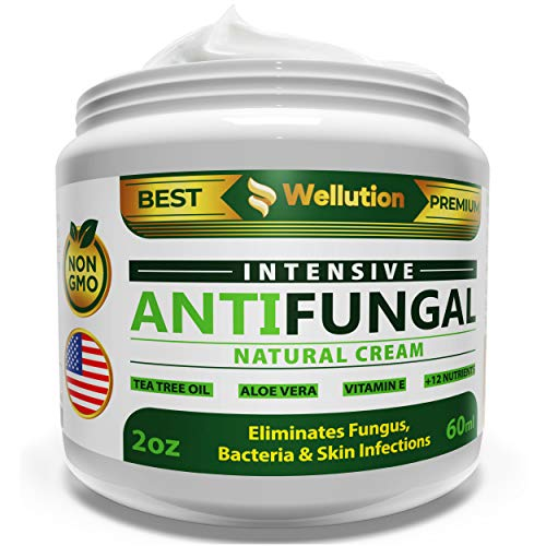 Antifungal Cream - Natural Hair, Skin & Nail - All in One, Intensive Head to Toe Treatment - Extra Strength Antimicrobial (Antifungal Cream Extra Strength)