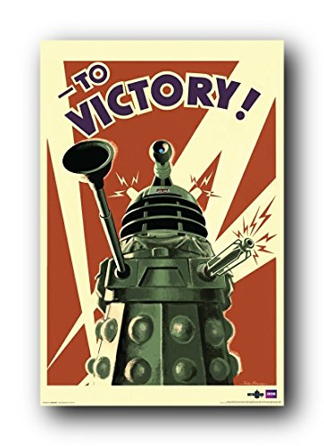 Doctor Who Dalek To Victory TV Poster Print 32x24 inch