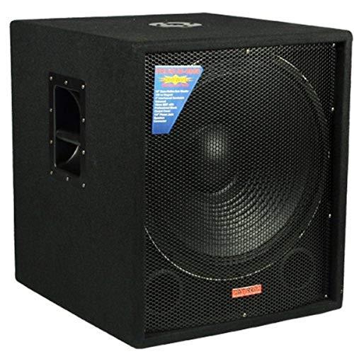 Mr. Dj SUB4000AMP Single 18' Dj Active Bass Amplifier 4000 Watts Max Peak Momentary Power