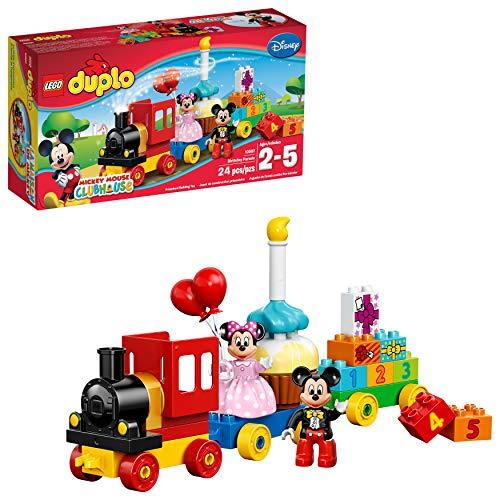 LEGO DUPLO l Disney Mickey Mouse Clubhouse Mickey & Minnie Birthday Parade 10597 Disney Toy (24 Pieces)