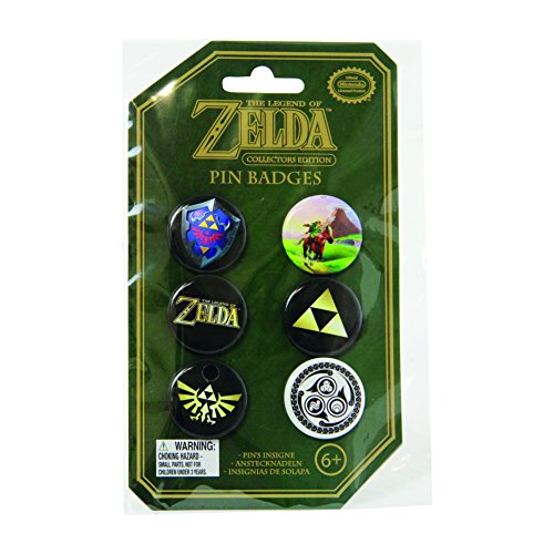 Paladone Nintendo Officially Licensed Merchandise - The Legend of Zelda Pin Badges