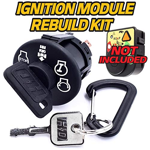 HD Switch Starter Ignition Switch Module Rebuild Replaces Cub Cadet LT1040 LT1042 LT1045 LT1046 LT1050 LT2042 CC30, FMZ50 - OEM Upgrade W/2 Keys