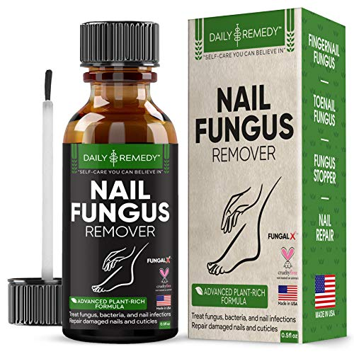 All Natural Nail Fungus Treatment – Made in USA, Best Nail Repair Product, Stop Fungal Growth, Effective Fingernail & Toenail Solution, Fix & Renew Damaged, Broken, Cracked & Discolored Nails
