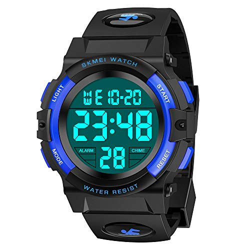 Kids Watch, ATOPDREAM Best Toys for 6-12 Years Old Boys for Digital Sport Waterproof Watch for 6-12 Year Boys Girls Teenage Kids Watches Great Birthday Present Idea for Boys