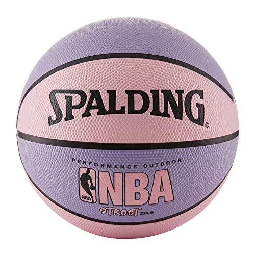 Spalding NBA Street Pink Outdoor Basketball , Pink/Purple , Size 6 - Intermediate (28.5inch)
