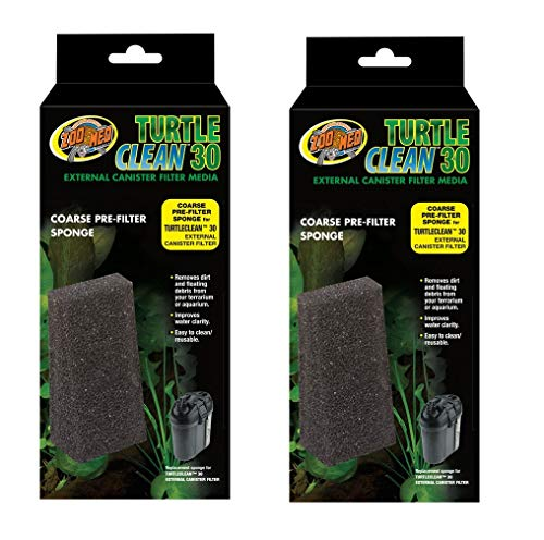 Turtle Clean 30 Coarse Pre-Filter Sponge (Pack of 2)