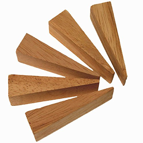 Wooden Wedges for Chair CANING USE Set of 5