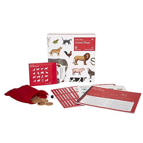 Animal Bingo: 8 Player Audio Bingo Game – Dementia Activities & Alzheimer's Products / Toys for Seniors