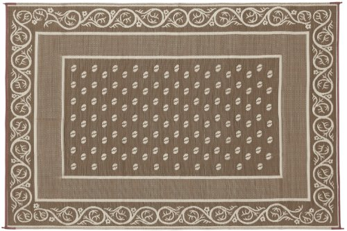 Faulkner Vineyard 9 by 12-Feet Beige Multi-Purpose Mat