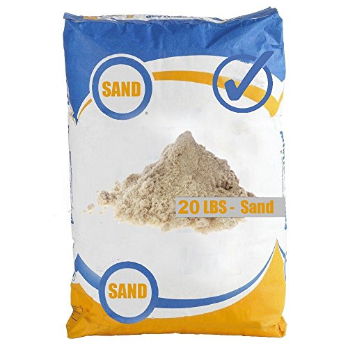 Play Sand - bag of sand, fine sand, 20 LBS