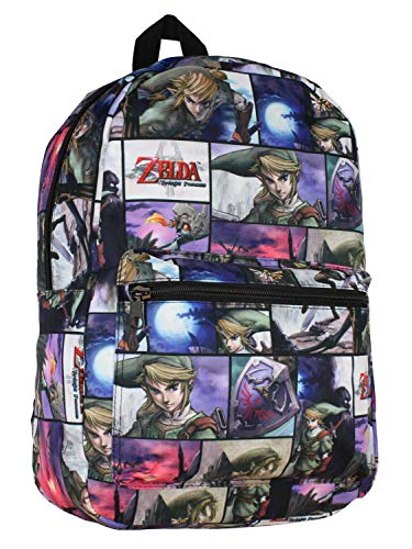 Bioworld The Legend of Zelda Link Multiple Scene Backpack