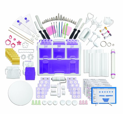 Wilton Ultimate Professional Cake Decorating Set, Purple- Discontinued By Manufacturer