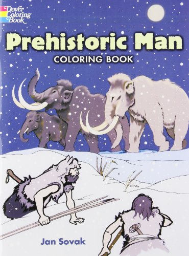 Prehistoric Man, Coloring Book