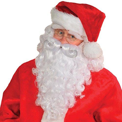 Premium Santa Wig & Beard Set   Christmas Accessory