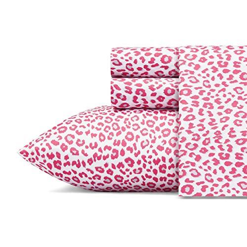 Betsey Johnson Betseys Leopard Sheet Set, Queen