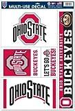 Ohio State Buckeyes 11'x 17' Jumbo Ultra Decal Set