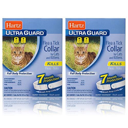 Hartz Ultra Guard Flea and Tick pour collier pour chat et chaton (paquet de 2)
