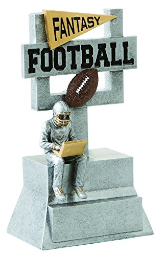 Decade Awards Fantasy Football Goalpost Trophy - FFL Goal Post Award - 7 Inch Tall - Engraved Plate on Request