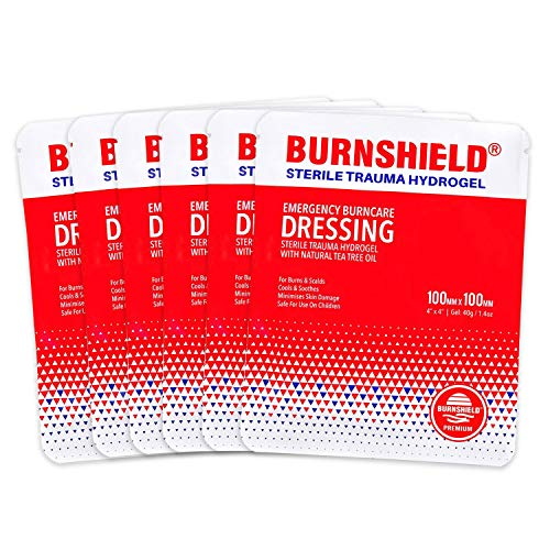 Burnshield 4' X 4' Burn Dressing, Sterile - 6 Count