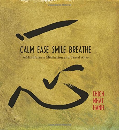 Calm, Ease, Smile, Breathe: CD and Traveling Altar by Thich Nhat Hanh (1-Jun-2009) Hardcover