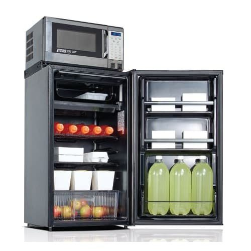 Refrigerator, Ice Compartment and Microwave, 3.6 cu. ft.