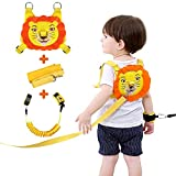 Lehoo Castle Toddler Leash for Walking, Toddler Safety Harnesses Leashes, Safety Harness with Lock for Kids, Anti Lost Wrist Link Safety Wrist Link for Toddlers