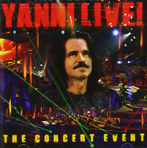 Yanni Live! The Concert Event (2 Disc Music CD/DVD Set)