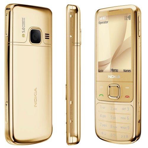 Unlocked Nokia 6700c Original Genuine Classic Bar Metal Mobile phone (Yellow)