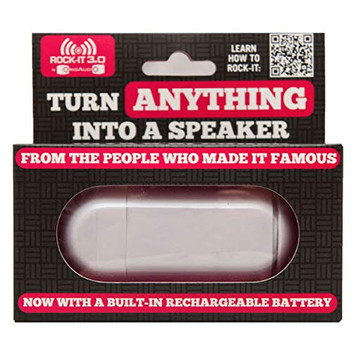 OrigAudio ROK3-W 3.0 Portable Vibration Speaker System for iPod/iPhone - Retail Packaging - White