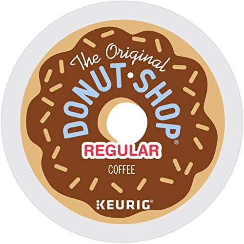 The Original Donut Shop Regular, Single-Serve Keurig K-Cup Pods, Medium Roast Coffee, 48 Count