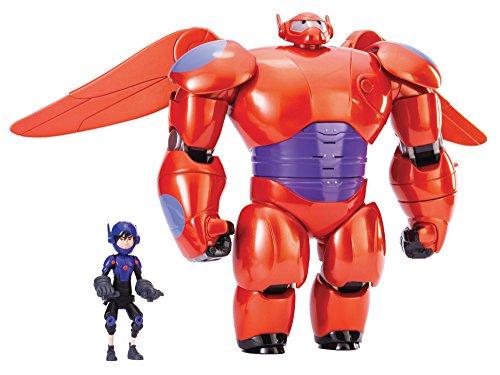 Big Hero 6 11' Deluxe Flying Baymax with 4.5' Hiro Action Figures