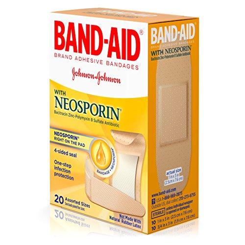 Johnson and Johnson 100557000 Band-Aid Plus Neosporin Adhesive Bandages