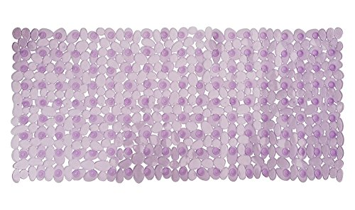 Non-slip Bathtub Mat Extra Long 35'x16'(for Smooth Non-Textured Tubs Only), Machine Washable Bath Tub Shower Mat with Suction Cups for Bathroom Bathtub Shower Stall