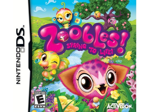 NEW - DS ZOOBLES - 76630