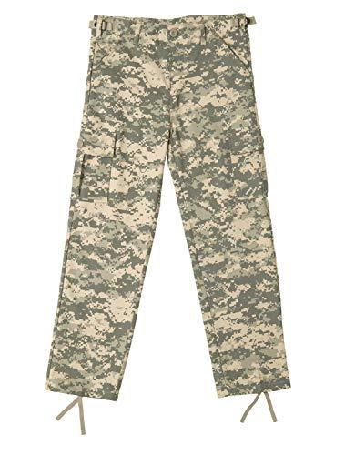 Rothco Kids Digital Camo BDU Pants, ACU Digital Camo, S