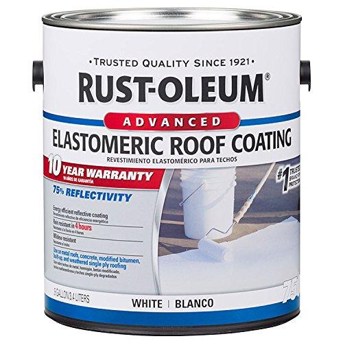 Rust-Oleum 301903 10 Year Elastomeric Roof Coating white gal