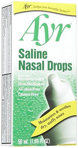 Ayr Saline Nasal Drops, 1.69 oz