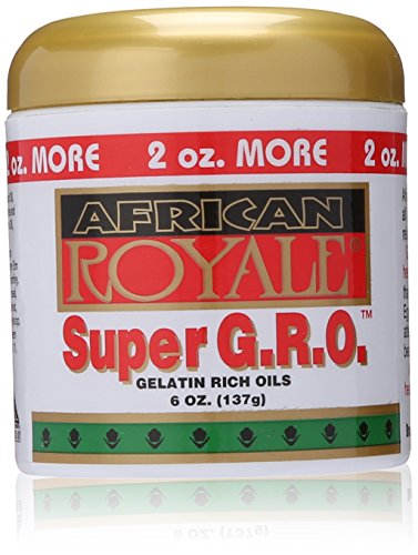 African Royale Super Gro Gelatin Rich Oil, 6 Ounce