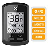 XOSS Bike GPS Computer G+ Wireless Speedometer Odometer Cycling Tracker Waterproof Road Bike MTB Bicycle Bluetooth ANT+ Cycling Computers (1 x G+ Computer)