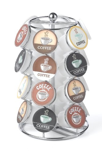 Nifty K-Cup Carousel, 1 count, Chrome