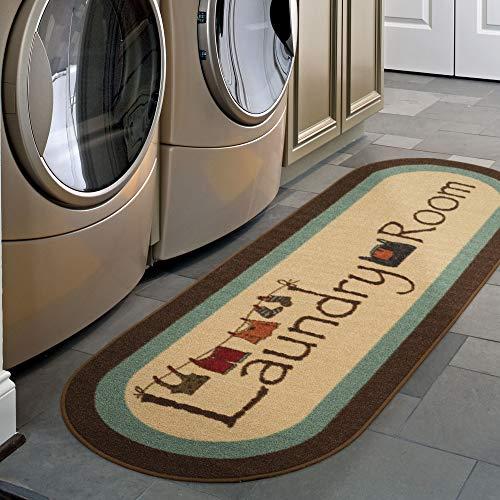 Ottomanson Laundry Runner Rug, 20' x 59', Brown