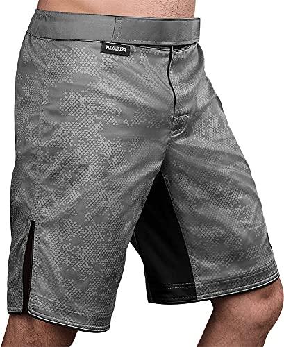 Hayabusa Hexagon BJJ Shorts - Grey, Large