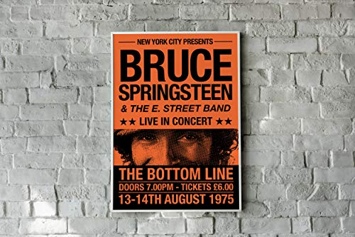 Bruce Springsteen Print, Bruce Springsteen Concert Poster, The Boss Print, Bruce Springsteen Artwork