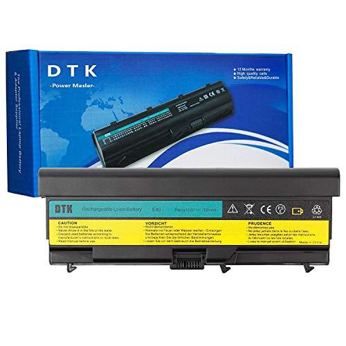 Dtk Extended Laptop Notebook Battery Replacement for Lenovo IBM Thinkpad E40 E50 0578 E420 E425 E520 E525 L410 L412 L420 L421 L510 L512 L520 Sl410 Sl510 T410 T420 T510 T520 W510 W520 10.8V 7800MAH