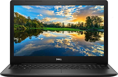 2021 Newest Dell Inspiron 15.6' HD Laptop, Intel Core i3-1005G1 Processor, 16GB DDR4 Memory, 256GB PCIe Solid State Drive, WiFi, Webcam, Online Class Ready, HDMI, Bluetooth, Win10 Home, Black