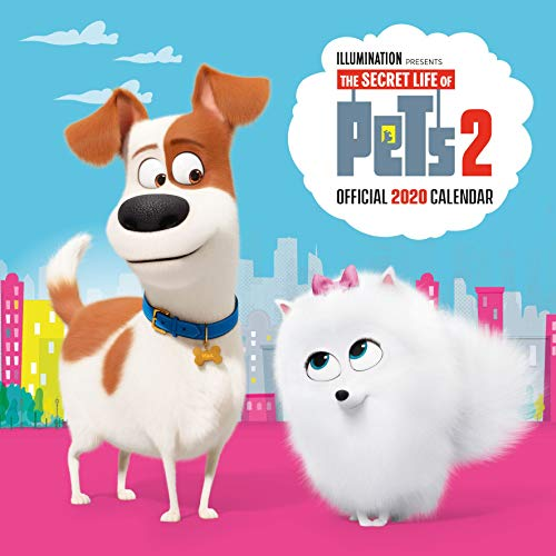 Secret Life of Pets 2 2020 Calendar - Official Square Wall Format Calendar